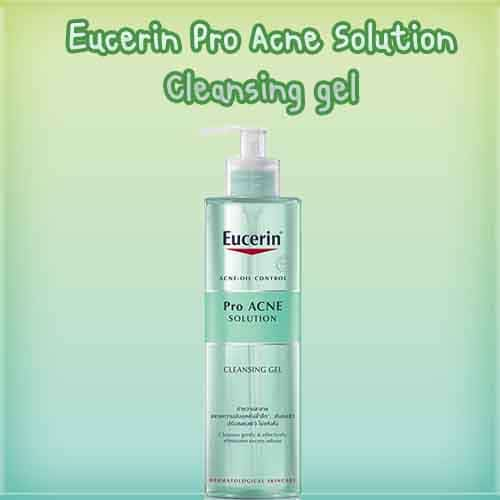 eucerin pro acne cleansing gel