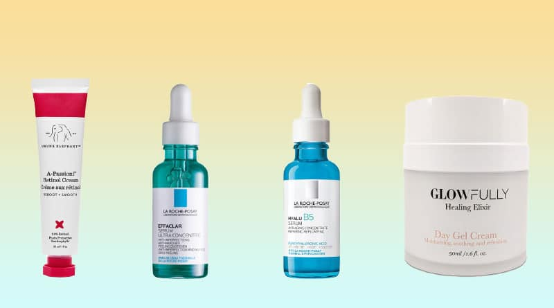 Active ingredient skincare